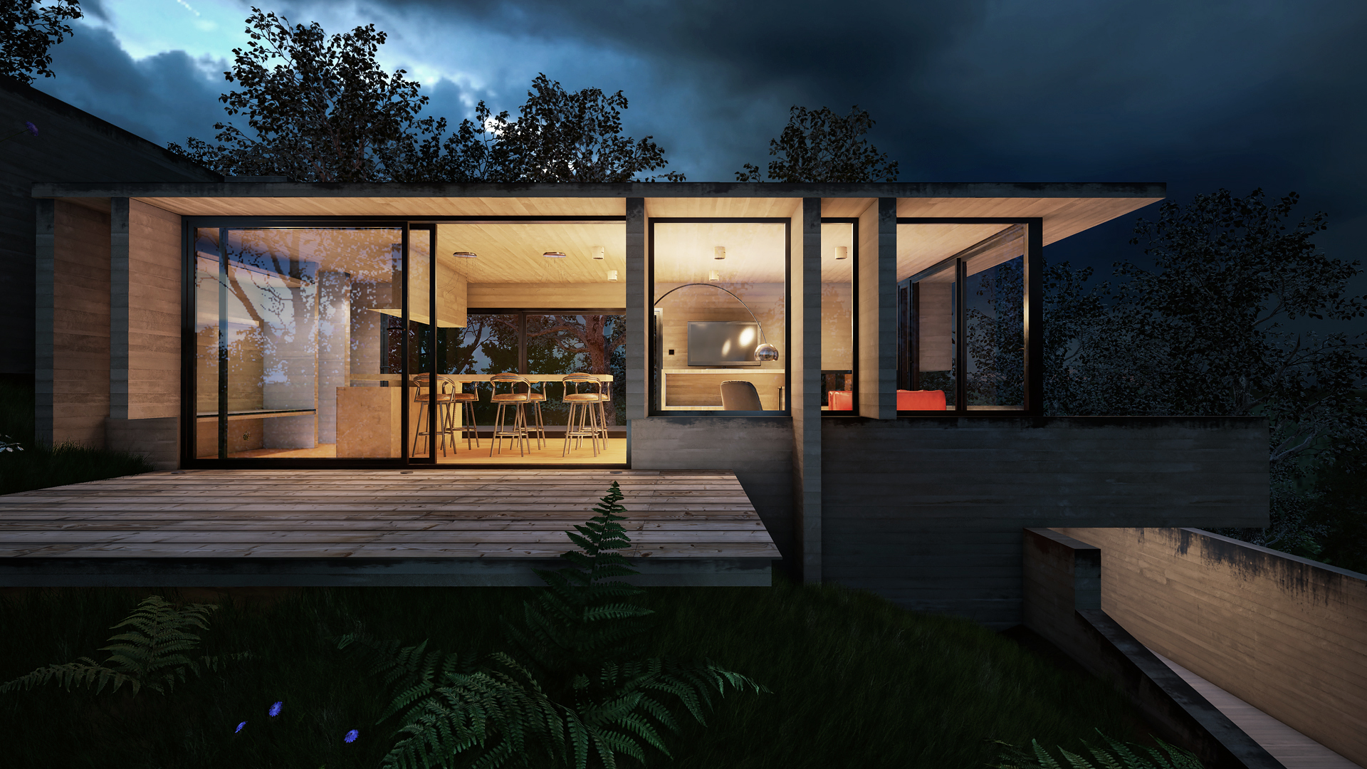 Unreal Engine Exterior Night And Day Architectural Visualization Unreal Engine Forums