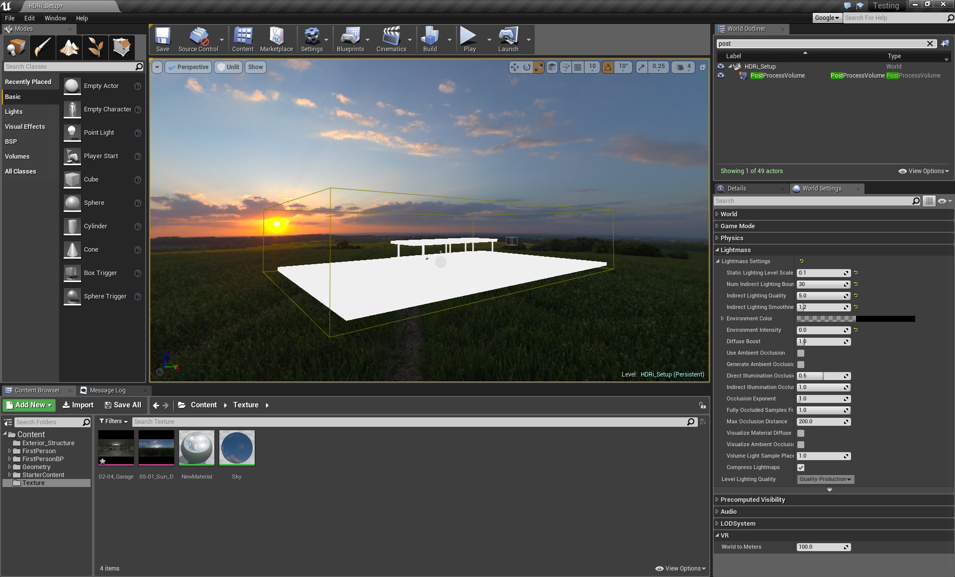 HDRI Lighting in Unreal Engine – Page 2 – Real Time 3D